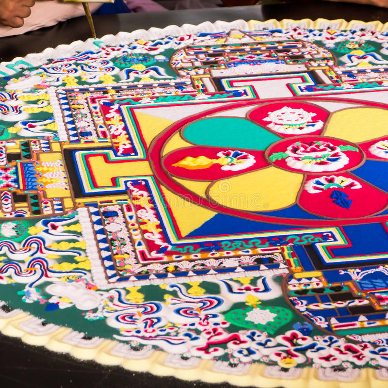 Sand Mandala Editorial Photo Image Of Indian Universe 38970871