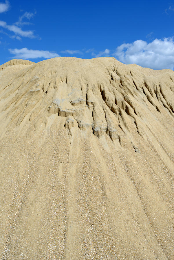 Download Sand mound stock image. Image of blue, outdoors, building - 26367889