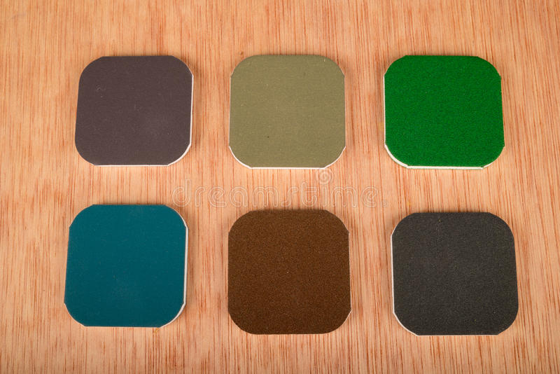 Sand paper stock photography