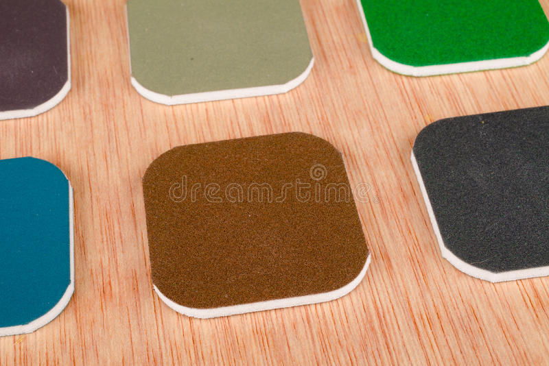Sand paper royalty free stock images