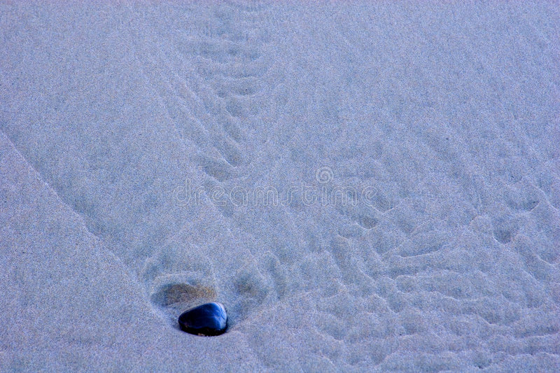 Sand and Pebble royalty free stock photography