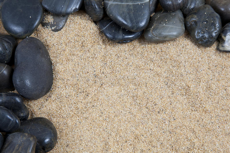 Download Sand and pebbles stock photo. Image of grains, group - 18496262
