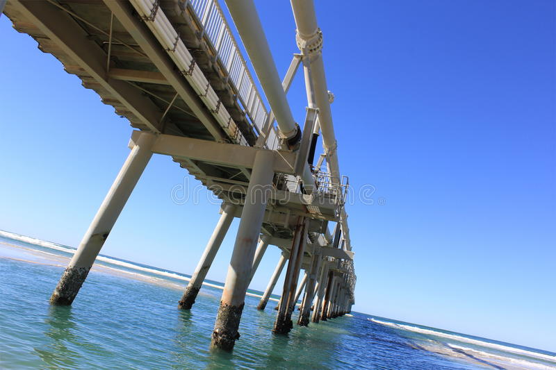 Download Sand Pumping Jetty, Southport 6 Stock Photo - Image: 26262328