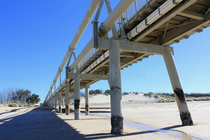 Download Sand Pumping Jetty, Southport 8 Stock Image - Image: 26262339