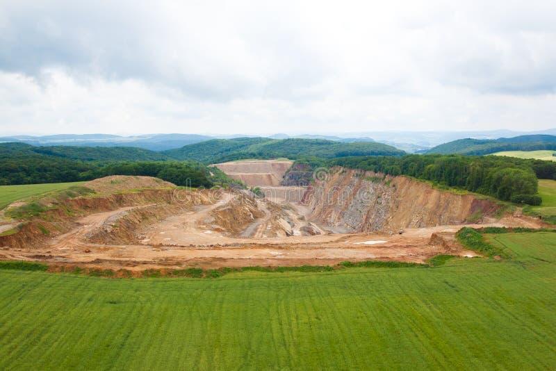 Download Sand quarry stock image. Image of landscape, bird, exploration - 20193625