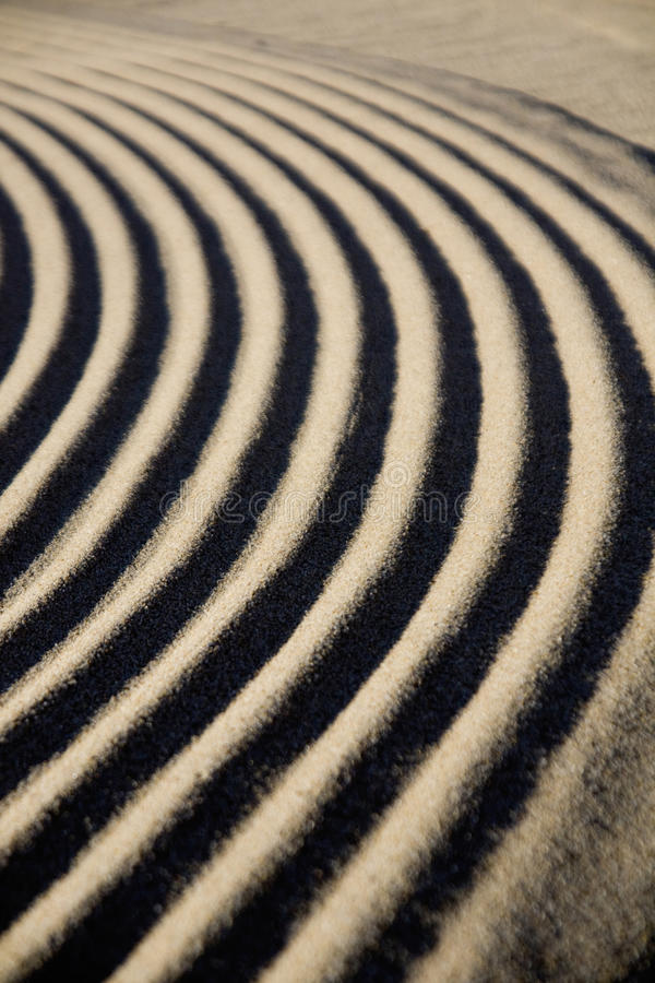 Sand ripple detail royalty free stock photo