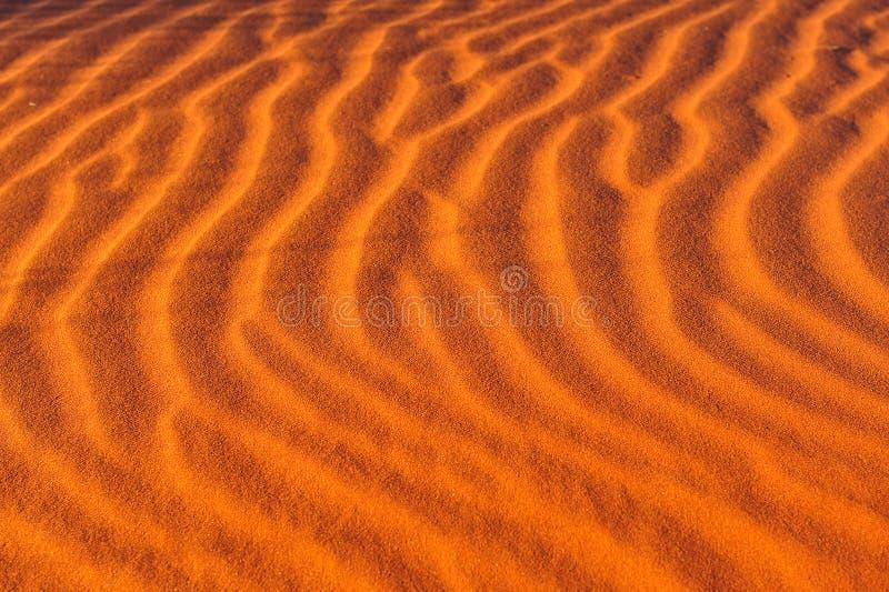 Sand Ripples (Patterns) stock image