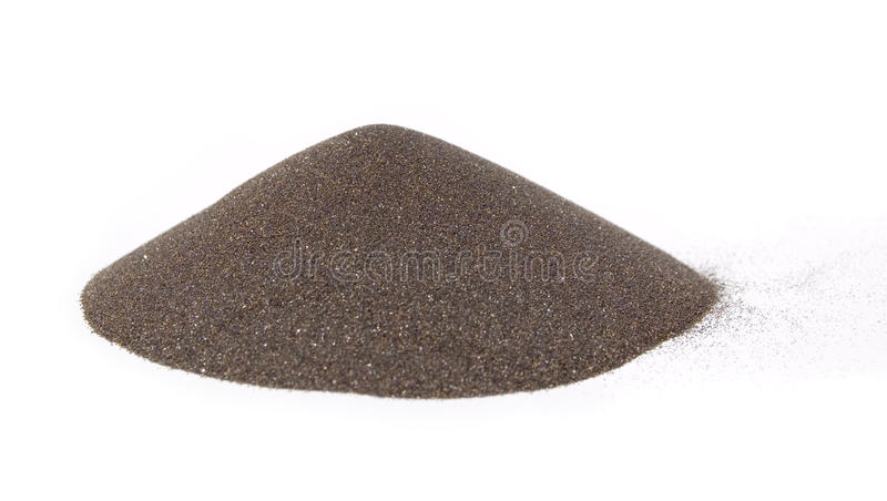 Sand S Cone - Ore Of Mining Industry Royalty Free Stock Photography