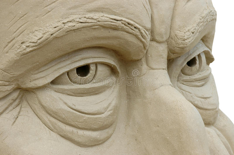 Sand sculpture stock photography