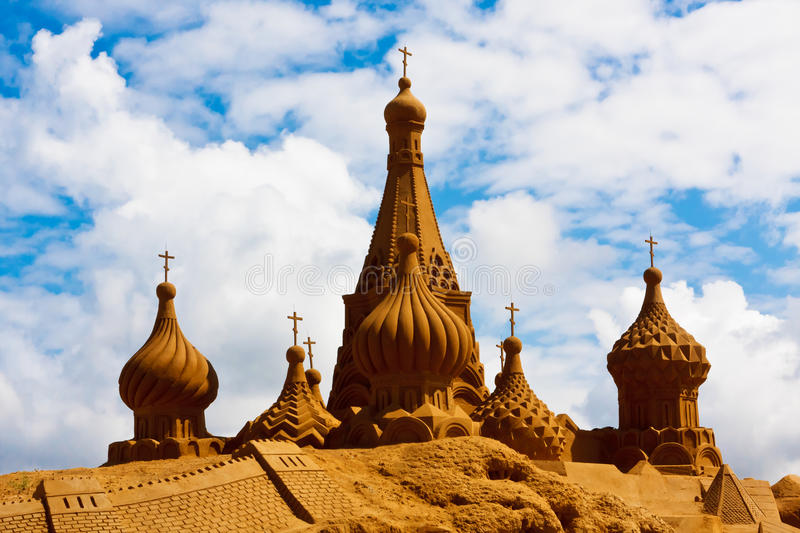 Download Sand sculpture stock photo. Image of build, chinese, brown - 17021796