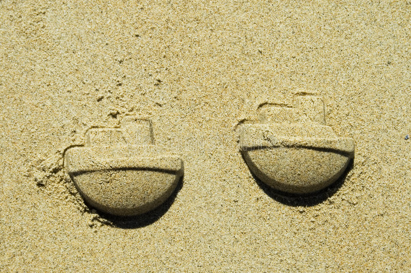 Download Sand Ships Royalty Free Stock Photo - Image: 187705