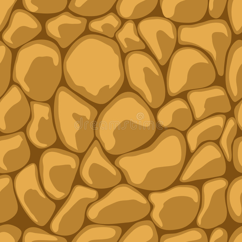 Sand Stone Seamless vector illustration
