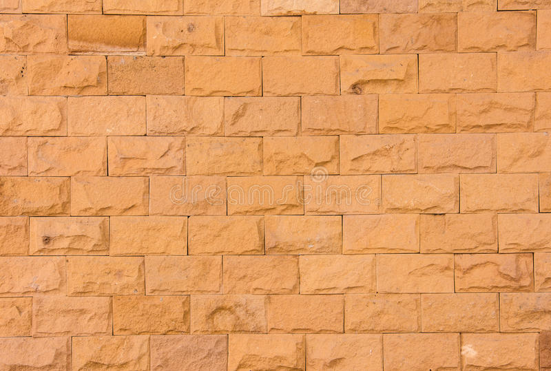 Sand stone wall royalty free stock photography