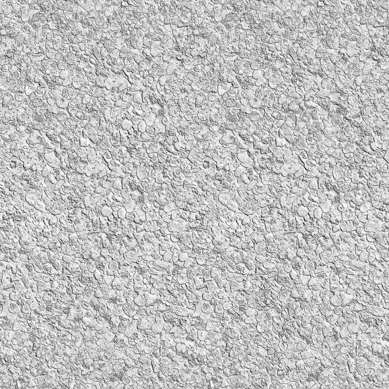 Sand and stones gray colorless seamless texture background royalty free illustration