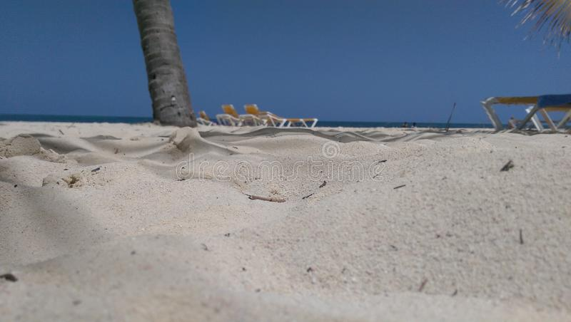Sand and sun royalty free stock photo