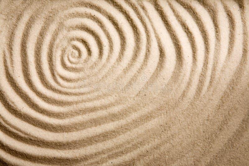 Sand Swirl Background stock image
