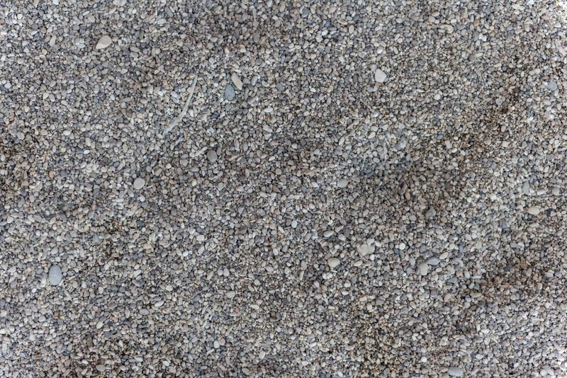 sand, texture, pebbles. memories of summer. royalty free stock photography
