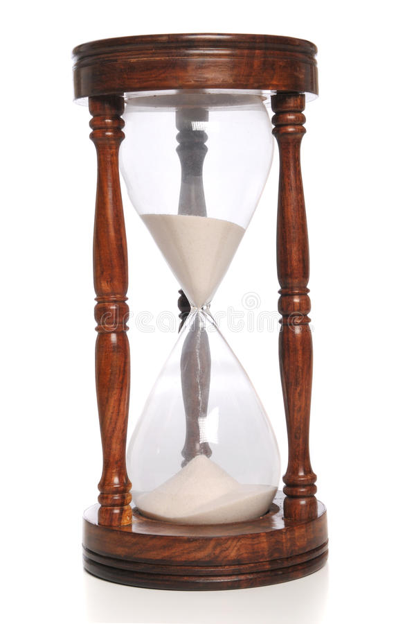 Sand Timer close up royalty free stock photo