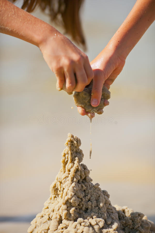 Sand tower stock photography