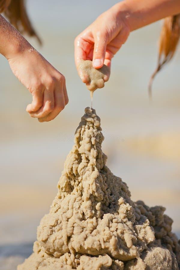 Sand tower stock photos