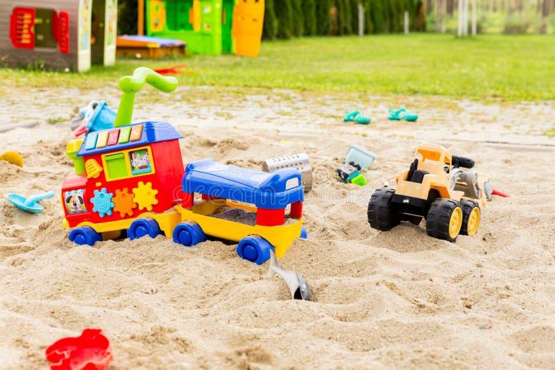 Sand Toys stock photos
