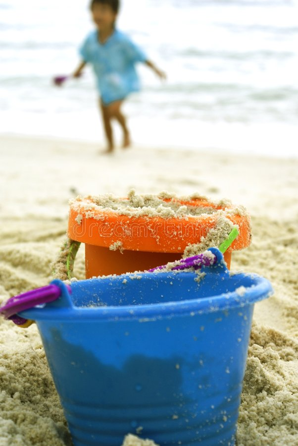 Free Sand Toys With Boy Royalty Free Stock Photo - 2219645