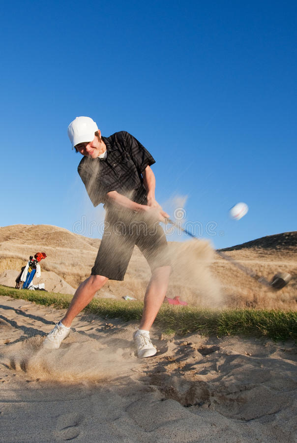 Download Sand Trap Royalty Free Stock Image - Image: 13401226