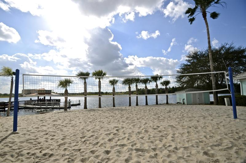 Sand volleyball court stock photo. Image of trees, spike ...