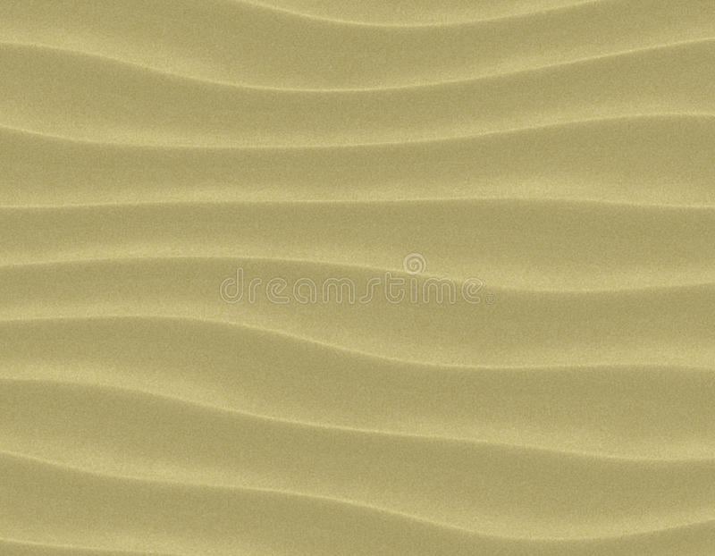 Sand Waves Royalty Free Stock Images