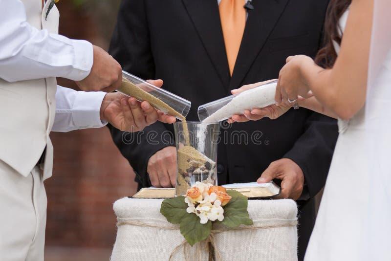 Download Sand wedding ceremony stock image. Image of ceremony - 27901953