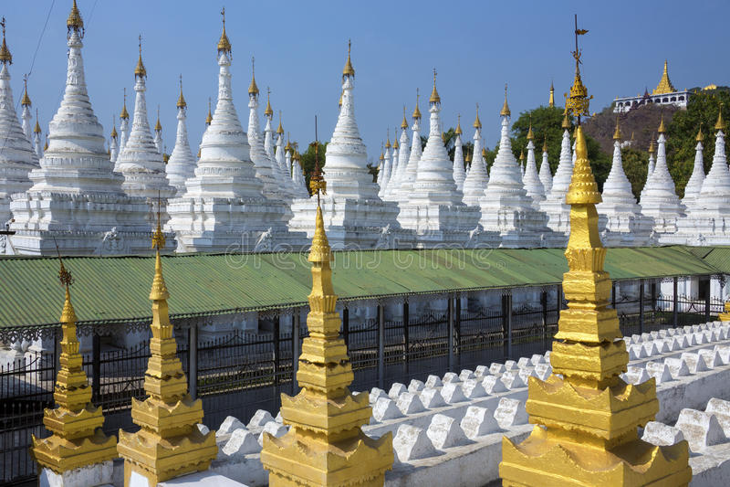 Sanda Muni Temple - Mandalay - il Myanmar (Birmania). fotografie stock libere da diritti