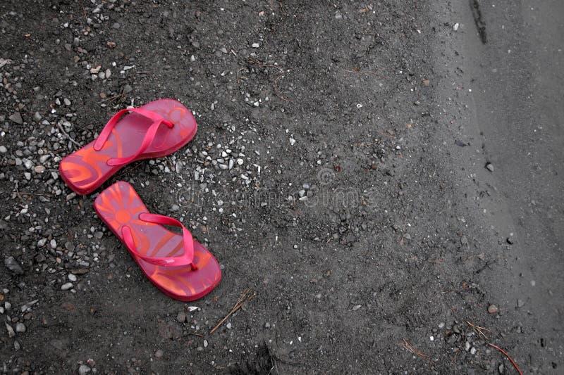 Download Sandały zdjęcie stock. Obraz złożonej z plaża, buty, target30 - 47468