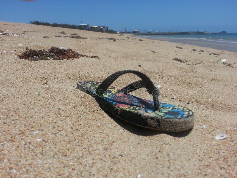 sandal arkivbild
