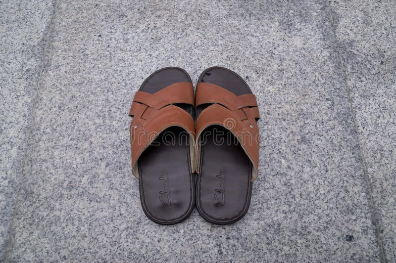 sandal arkivfoton