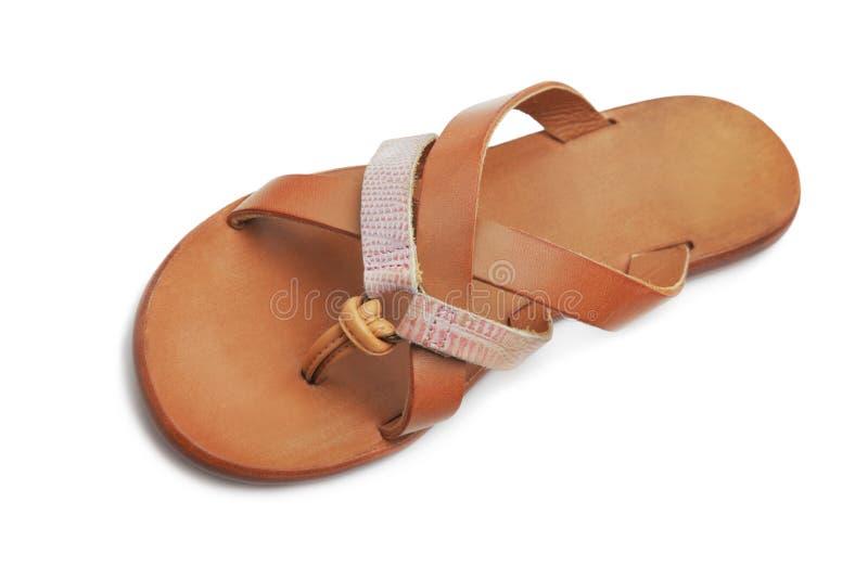 Download Sandal stock image. Image of sandals, brown, flipflops - 34150517