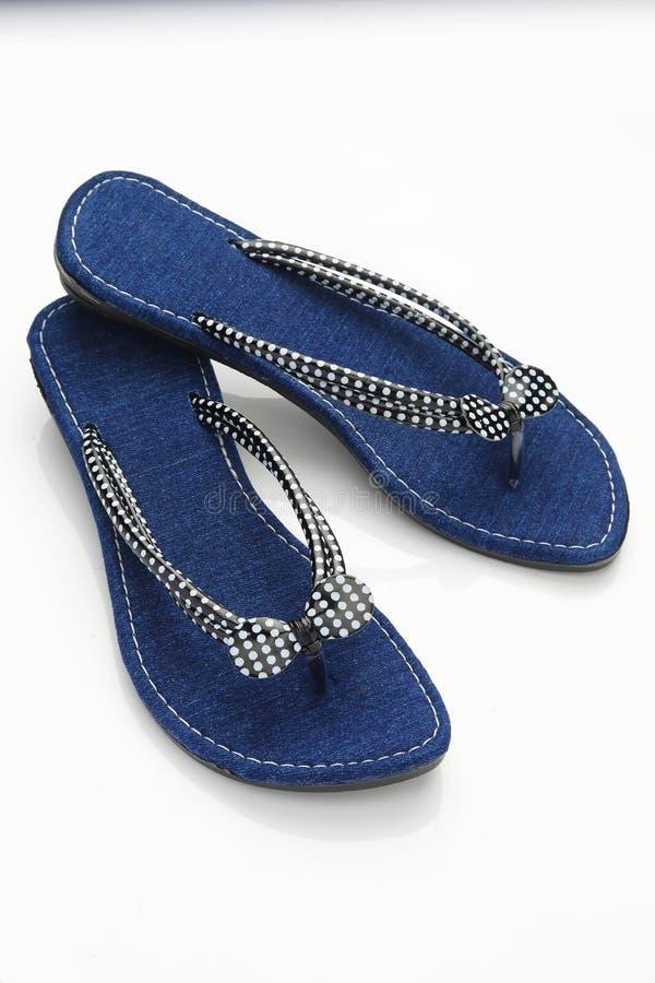 Sandal för kvinna s royaltyfri foto