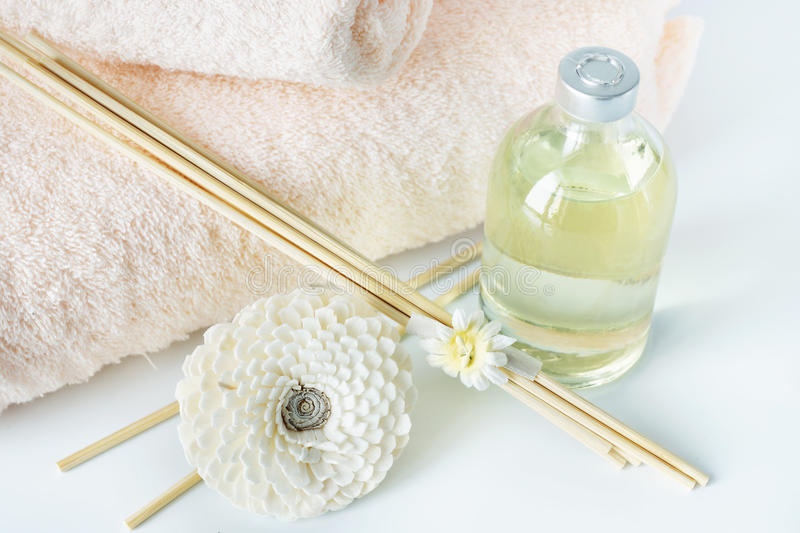 Sandal oil and sticks for spa procedures