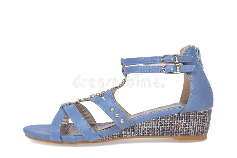 Download Sandal Shoe For Woman Royalty Free Stock Images - Image: 23204989