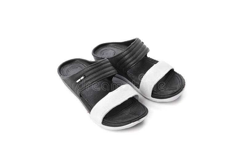 Sandal som isoleras på vit bakgrund royaltyfri foto