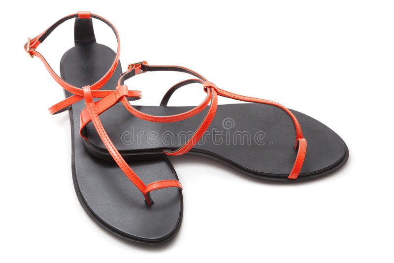 Sandaler royaltyfri bild