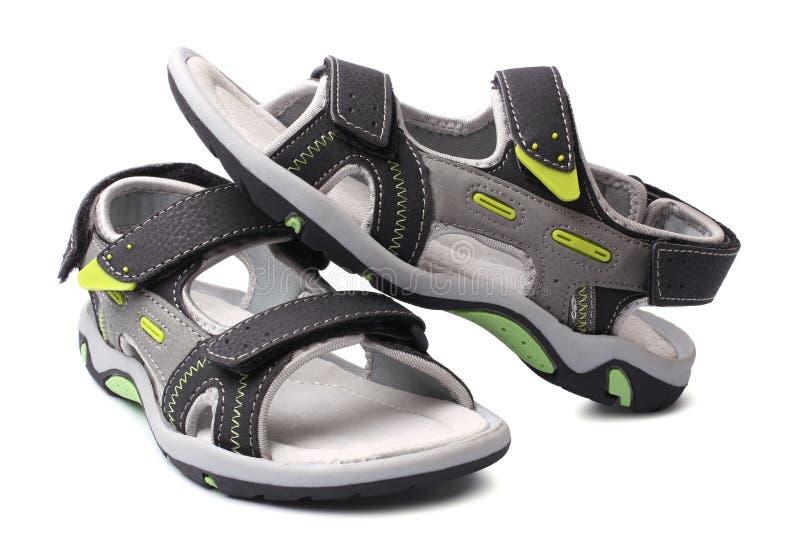 Sandaler för barn` s arkivfoton
