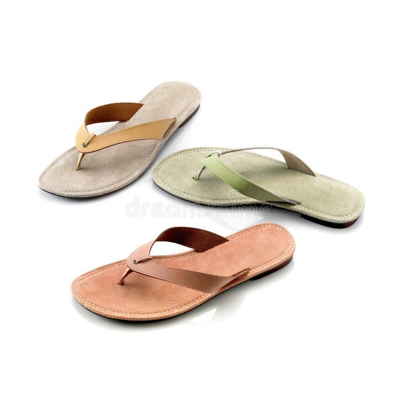 Sandales de Madame images stock