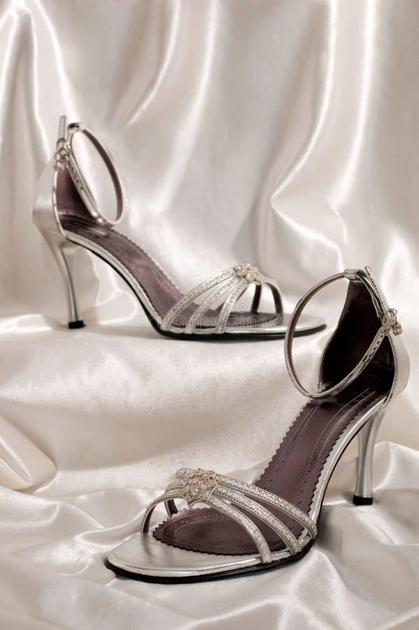 Sandali dell'alto tallone fotografie stock libere da diritti