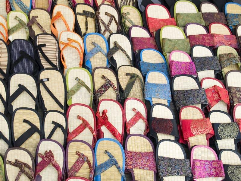 Sandalias imagen de archivo