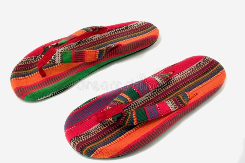 Sandalias del verano foto de archivo