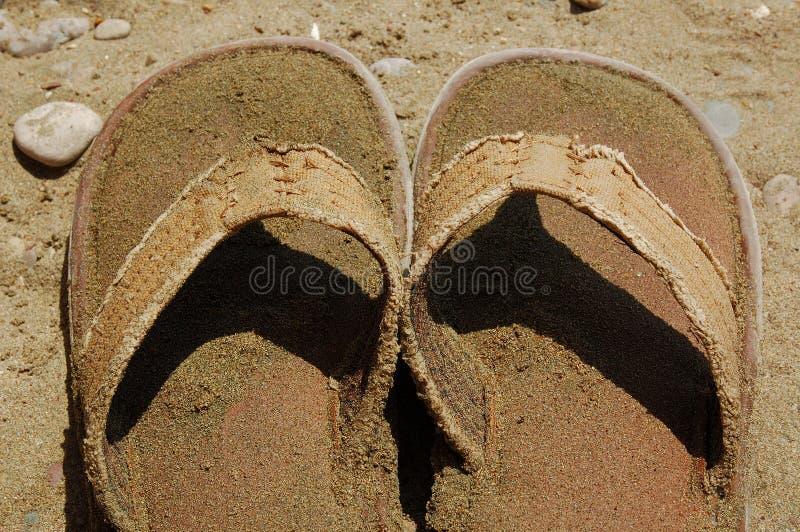 sandals arkivfoton
