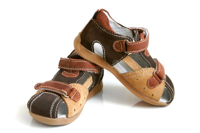 sandals för barn s arkivfoton