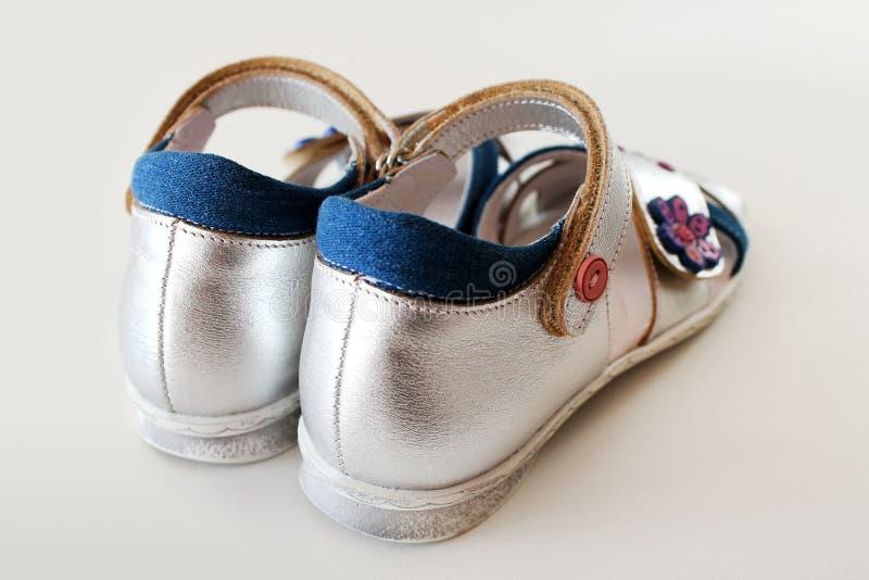 sandals för flicka s royaltyfria foton
