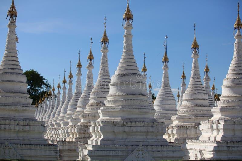 Sandamani Paya в Мандалае стоковые изображения