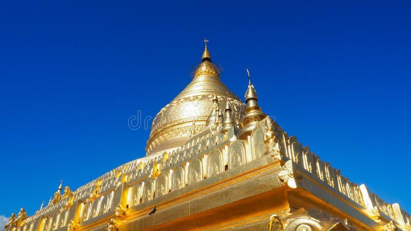 Sandamuni Pagoda in Mandalay Myanmar on Sandamuni Pagoda is a Buddhist stupa located southwest of Mandalay. royalty free stock images